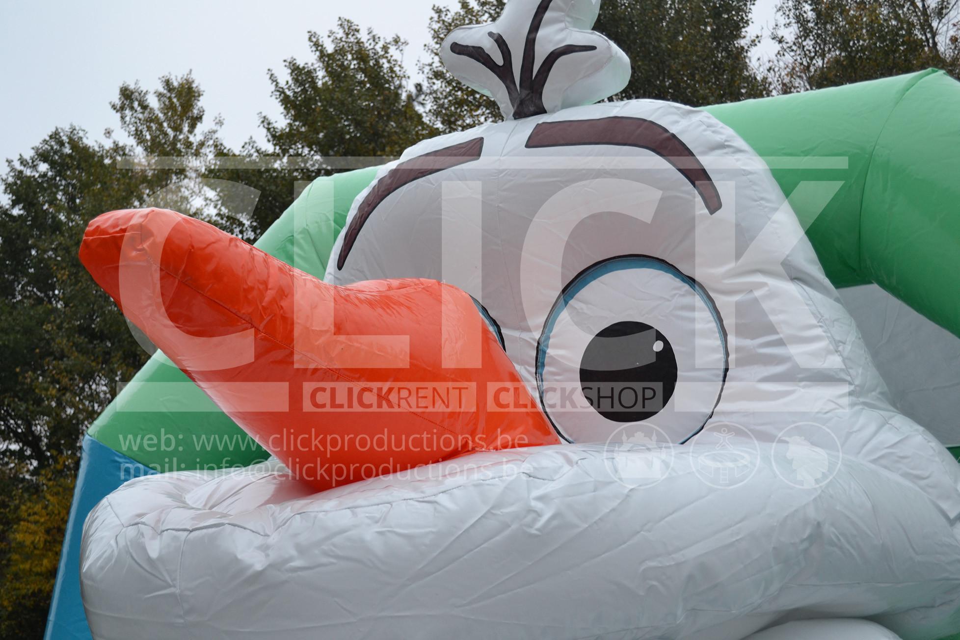 Springkasteel Frozen Slide huren