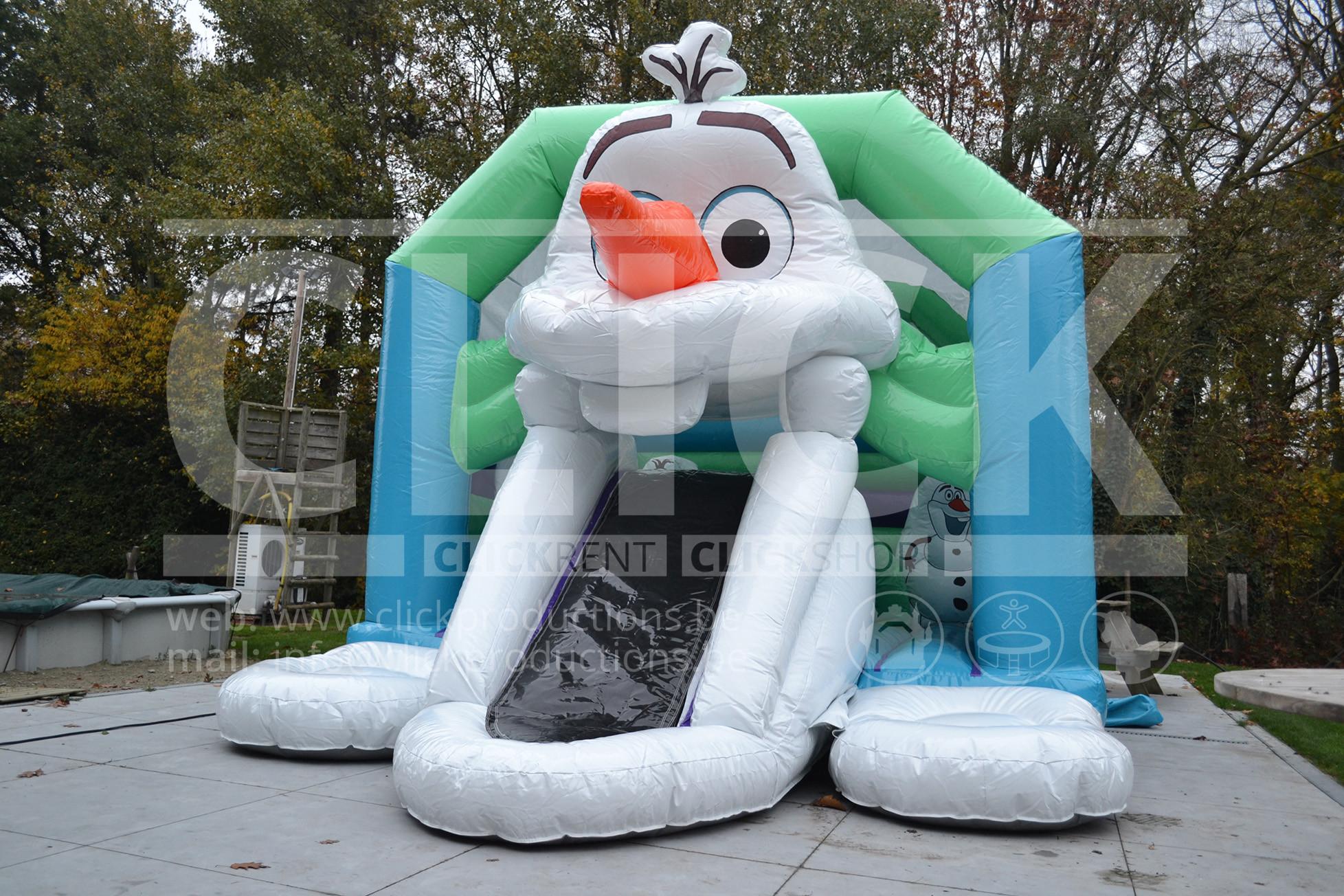 Olaf springkasteel huren