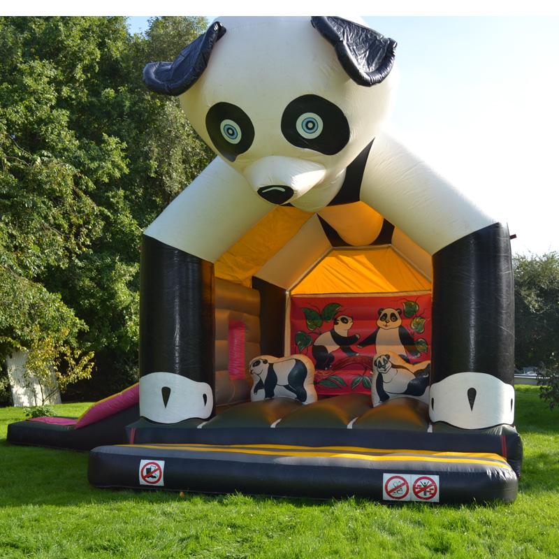Springkasteel Panda Groot – Glijbaan