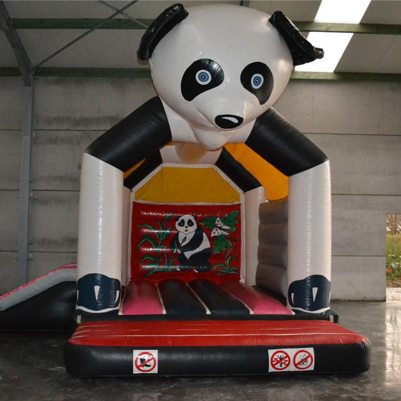 Springkasteel Panda Klein