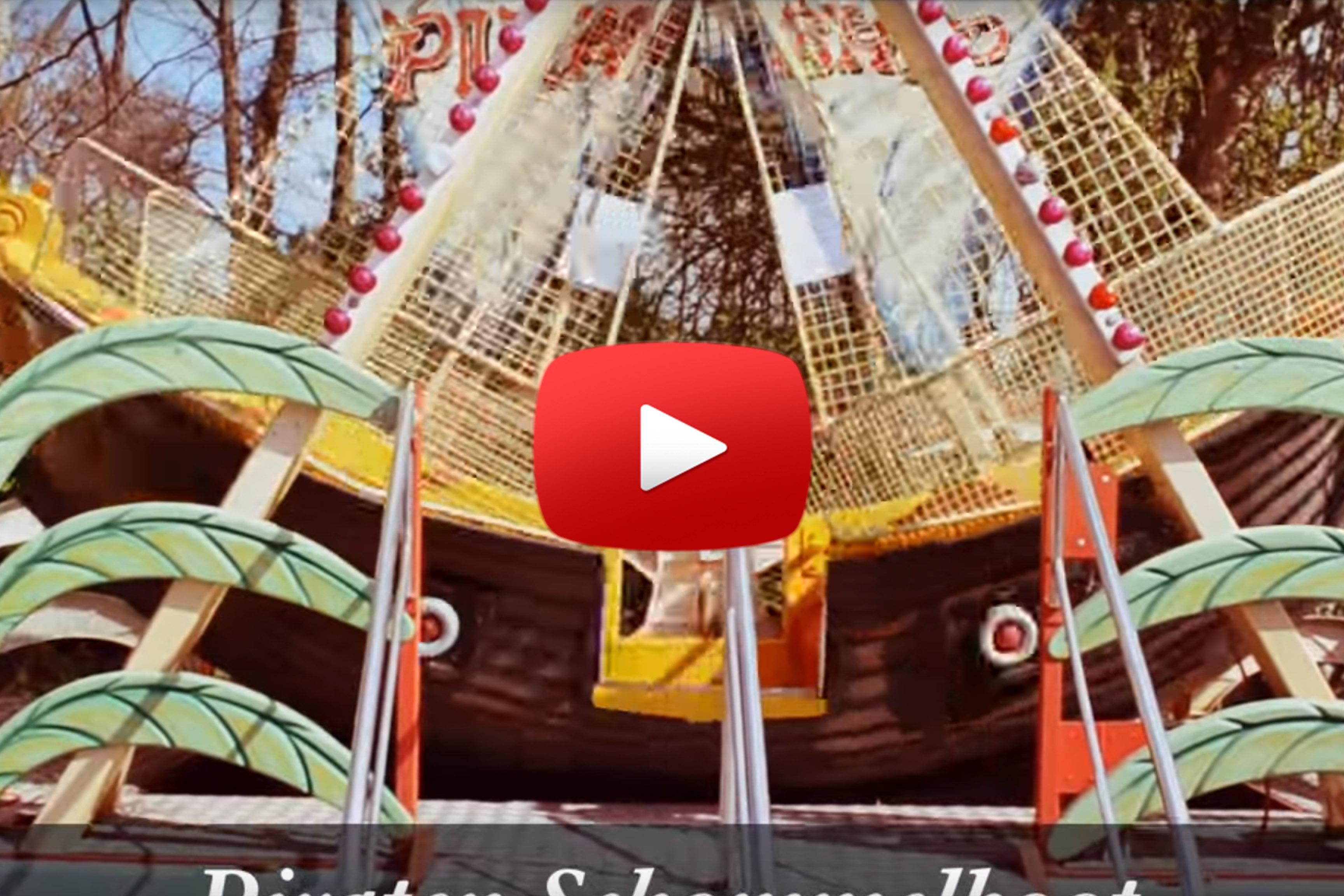 Schommelboot Piraat video