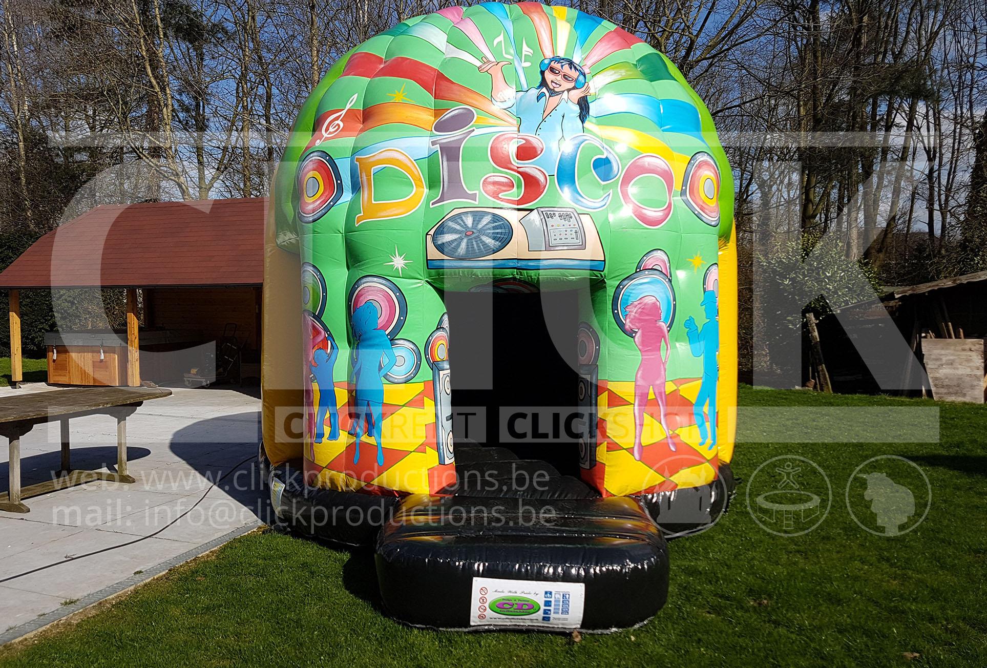 Mini Disco Springkasteel