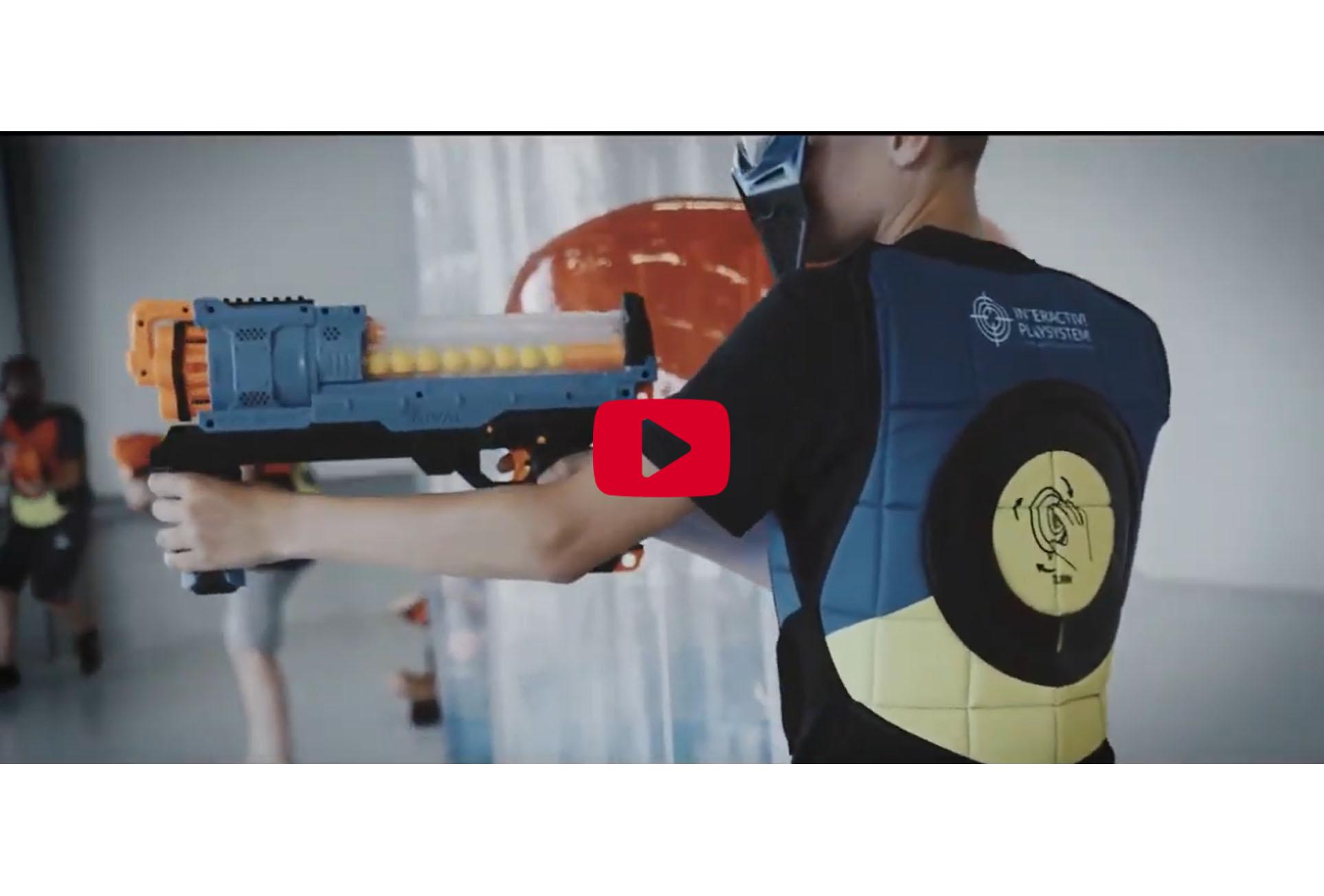 IPS Volwassen Vest + Nerf Guns video
